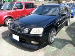 沖縄の中古車 日産 ステージア 車両価格 15万円 リ済込 平成11年 9.9万K ブラック