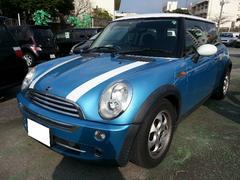 沖縄の中古車 MINI MINI 車両価格 49万円 リ済込 2005年 10.3万K ライトブルーM