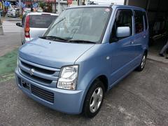 沖縄の中古車 スズキ ワゴンR 車両価格 32万円 リ済込 平成19年 9.2万K ライトブルーM