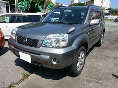 沖縄の中古車 日産 エクストレイル 車両価格 76万円 リ済込 平成19年 10.9万K ブレードシルバーM