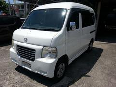 沖縄の中古車 ホンダ バモスホビオプロ 車両価格 42万円 リ済込 平成17年 11.3万K ホワイト