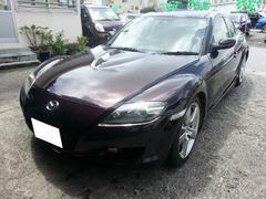 沖縄の中古車 マツダ RX−8 車両価格 85万円 リ済込 平成17年 9.0万K ダークパープル