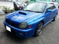 沖縄の中古車 スバル インプレッサ 車両価格 95万円 リ済込 平成12年 14.1万K ブルーM