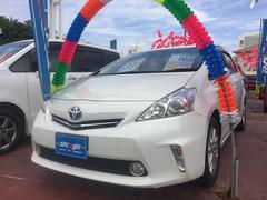 沖縄の中古車 トヨタ プリウスアルファ 車両価格 129万円 リ済込 平成24年 6.4万K ホワイト