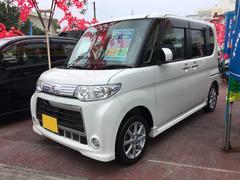沖縄の中古車 ダイハツ タント 車両価格 79万円 リ済込 平成23年 6.3万K ホワイト