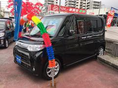 沖縄の中古車 ダイハツ タント 車両価格 84万円 リ済込 平成24年 6.0万K ブラック