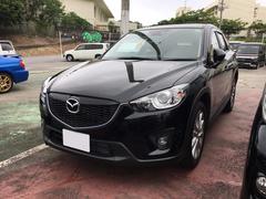 沖縄の中古車 マツダ CX−5 車両価格 182万円 リ済込 平成25年 7.8万K ブラック