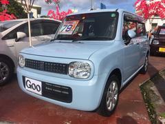 沖縄の中古車 スズキ アルトラパン 車両価格 75万円 リ済込 平成25年 2.7万K ライトブルー
