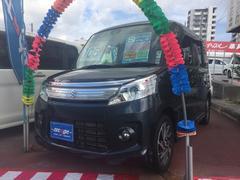 沖縄の中古車 スズキ スペーシアカスタム 車両価格 99万円 リ済込 平成25年 1.7万K グレー