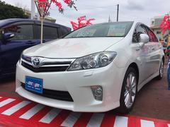 沖縄の中古車 トヨタ SAI 車両価格 129万円 リ済込 平成23年 7.8万K パールホワイト