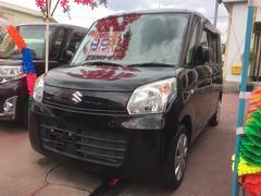 沖縄の中古車 スズキ スペーシア 車両価格 84万円 リ済込 平成26年 2.0万K ブラック