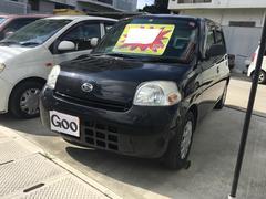 沖縄の中古車 ダイハツ エッセ 車両価格 26万円 リ済込 平成22年 9.1万K ブラックマイカメタリック