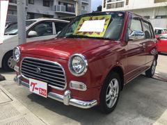 沖縄の中古車 ダイハツ ミラジーノ 車両価格 23万円 リ済込 平成14年 13.5万K レッド