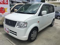 沖縄の中古車 三菱 eKワゴン 車両価格 45万円 リ済込 平成23年 3.4万K ホワイトソリッド