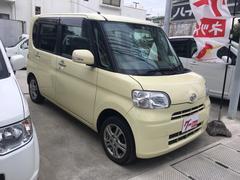 沖縄の中古車 ダイハツ タント 車両価格 60万円 リ済込 平成23年 7.3万K ライトイエロー