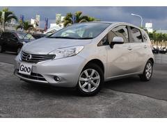 沖縄の中古車 日産 ノート 車両価格 88万円 リ済込 平成25年 2.7万K シルバーM
