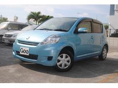 沖縄の中古車 トヨタ パッソ 車両価格 39万円 リ済込 平成20年 4.0万K ブルーM