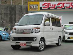 沖縄の中古車 ダイハツ アトレーワゴン 車両価格 114万円 リ済込 平成25年 8.0万K パール