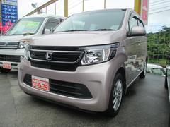 沖縄の中古車 ホンダ N−WGN 車両価格 110万円 リ済込 平成26年 5.5万K ピンク