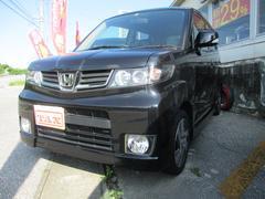 沖縄の中古車 ホンダ ゼストスパーク 車両価格 84万円 リ済込 平成24年 6.1万K ブラック