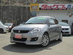 沖縄の中古車 スズキ スイフト 車両価格 99万円 リ済込 平成24年 6.0万K シルバー