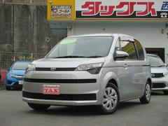 沖縄の中古車 トヨタ スペイド 車両価格 89万円 リ済込 平成24年 7.0万K シルバー
