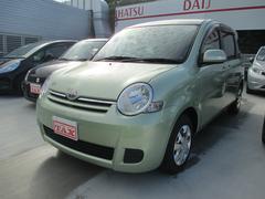 沖縄の中古車 トヨタ シエンタ 車両価格 65万円 リ済込 平成20年 7.3万K Lグリーン