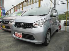 沖縄の中古車 日産 デイズ 車両価格 84万円 リ済込 平成26年 5.6万K シルバー