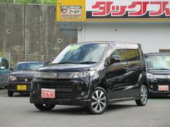 沖縄の中古車 スズキ ワゴンRスティングレー 車両価格 94万円 リ済込 平成24年 3.4万K ブラック