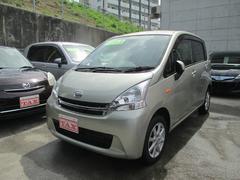 沖縄の中古車 ダイハツ ムーヴ 車両価格 80万円 リ済込 平成24年 7.2万K ライトゴールド