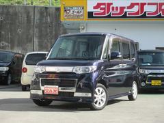 沖縄の中古車 ダイハツ タント 車両価格 68万円 リ済込 平成20年 7.2万K ダークブルー