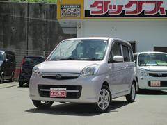 沖縄の中古車 スバル ステラ 車両価格 54万円 リ済込 平成22年 6.2万K ピンク
