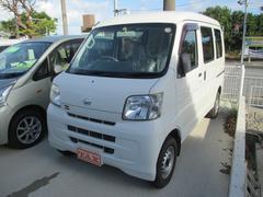 沖縄の中古車 ダイハツ ハイゼットカーゴ 車両価格 64万円 リ済込 平成22年 8.0万K ホワイト