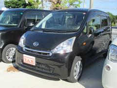 沖縄の中古車 ダイハツ ムーヴ 車両価格 74万円 リ済込 平成24年 7.7万K ブラック