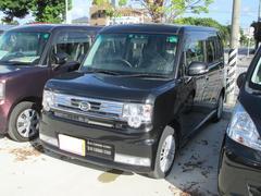 沖縄の中古車 ダイハツ ムーヴコンテ 車両価格 100万円 リ済込 平成25年 5.2万K ブラック