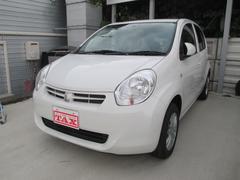 沖縄の中古車 トヨタ パッソ 車両価格 59万円 リ済込 平成24年 7.3万K ホワイト