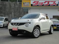 沖縄の中古車 日産 ジューク 車両価格 109万円 リ済込 平成24年 6.7万K パール