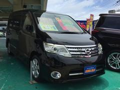 沖縄の中古車 日産 セレナ 車両価格 97万円 リ済込 平成21年 8.7万K ブラック