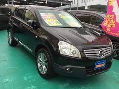 沖縄の中古車 日産 デュアリス 車両価格 108万円 リ済込 平成21年 8.0万K ブラックM