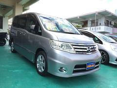 沖縄の中古車 日産 セレナ 車両価格 88万円 リ済込 平成21年 9.3万K シルバー