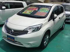 沖縄の中古車 日産 ノート 車両価格 78万円 リ済込 平成25年 1.3万K パールホワイト