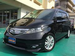 沖縄の中古車 ホンダ エリシオン 車両価格 108万円 リ済込 平成20年 8.9万K ブラックM