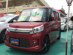 沖縄の中古車 スズキ スペーシアカスタム 車両価格 108万円 リ済込 平成27年 0.7万K レッドM