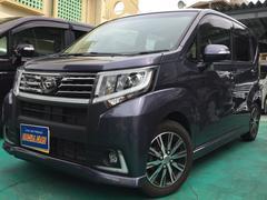 沖縄の中古車 ダイハツ ムーヴ 車両価格 124万円 リ済込 平成27年 2.2万K ダークグレーM