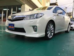 沖縄の中古車 トヨタ SAI 車両価格 128万円 リ済込 平成22年 7.9万K パールホワイト