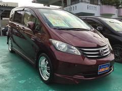 沖縄の中古車 ホンダ フリード 車両価格 88万円 リ済込 平成21年 8.9万K ワインM