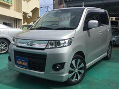 沖縄の中古車 スズキ ワゴンRスティングレー 車両価格 78万円 リ済込 平成23年 3.7万K シルバーM