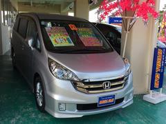 沖縄の中古車 ホンダ ステップワゴン 車両価格 94万円 リ済込 平成21年 6.9万K シルバーM