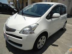 沖縄の中古車 トヨタ ラクティス 車両価格 49万円 リ済込 平成22年 7.3万K パールホワイト