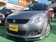 沖縄の中古車 スズキ スイフト 車両価格 69万円 リ済込 平成24年 7.0万K ガンM